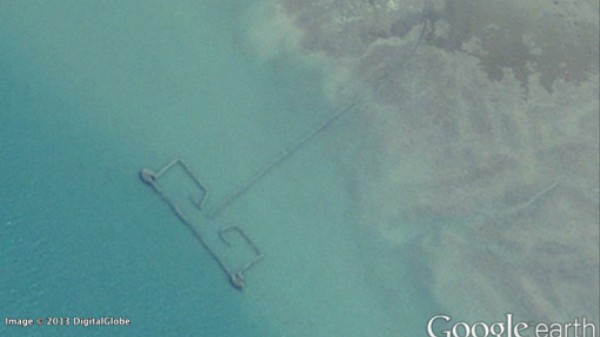 Google Earth Images Caught Persian Gulf Fishermen Breaking International Law