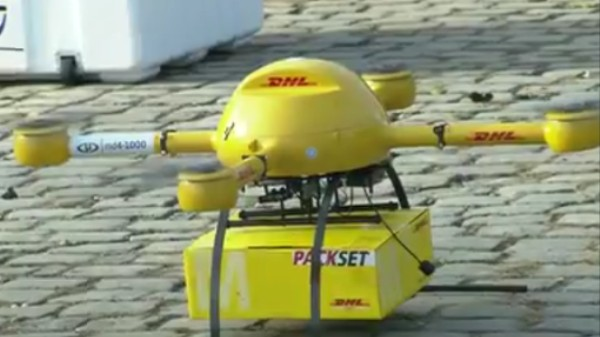 Delivery Drones Are Already Flying in Germany