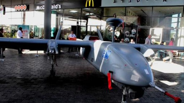 At the Mall in Israel, Window Shopping for War Drones