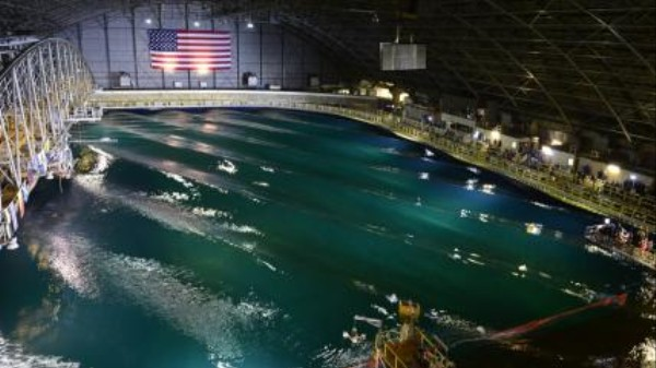 The Navy Just Unveiled the World's Greatest Wave Pool