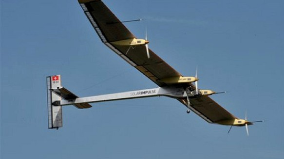 Motherboard TV: Upgrade: Flying Around The World In A Solar Powered Plane