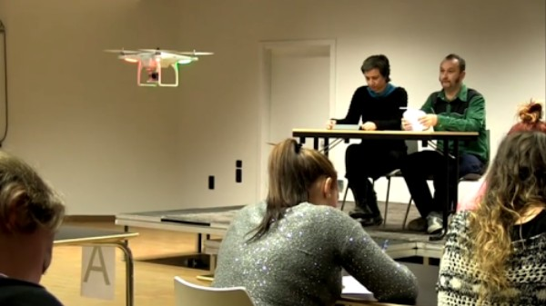 Drones Aren't Going to Spy on Classrooms