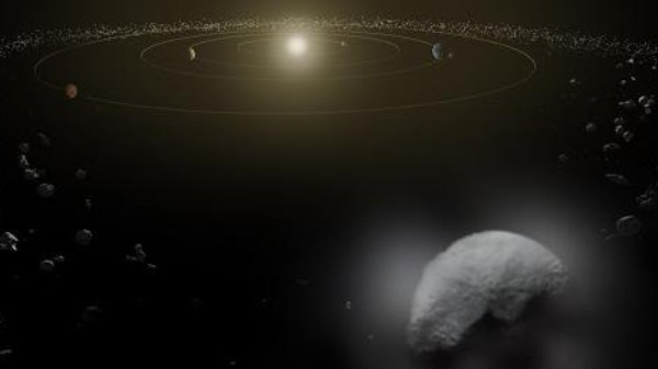 There's Water on the Surface of the Largest Object in the Asteroid Belt