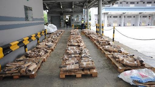 Hong Kong Will Burn Its Massive Stockpile of Illegal Ivory