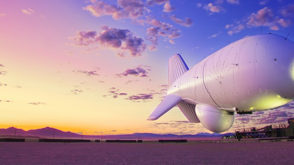 A Giant Military Surveillance Blimp Is Going to Constantly Monitor the East Coast