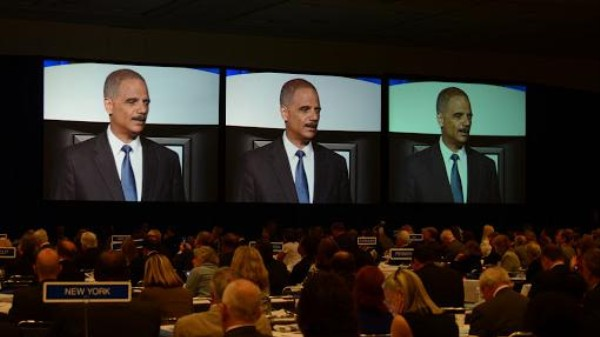 Eric Holder Wants American Banks and Legal Pot Shops to Be Buds