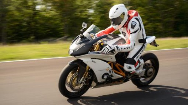 The Electric Superbike Of The Future