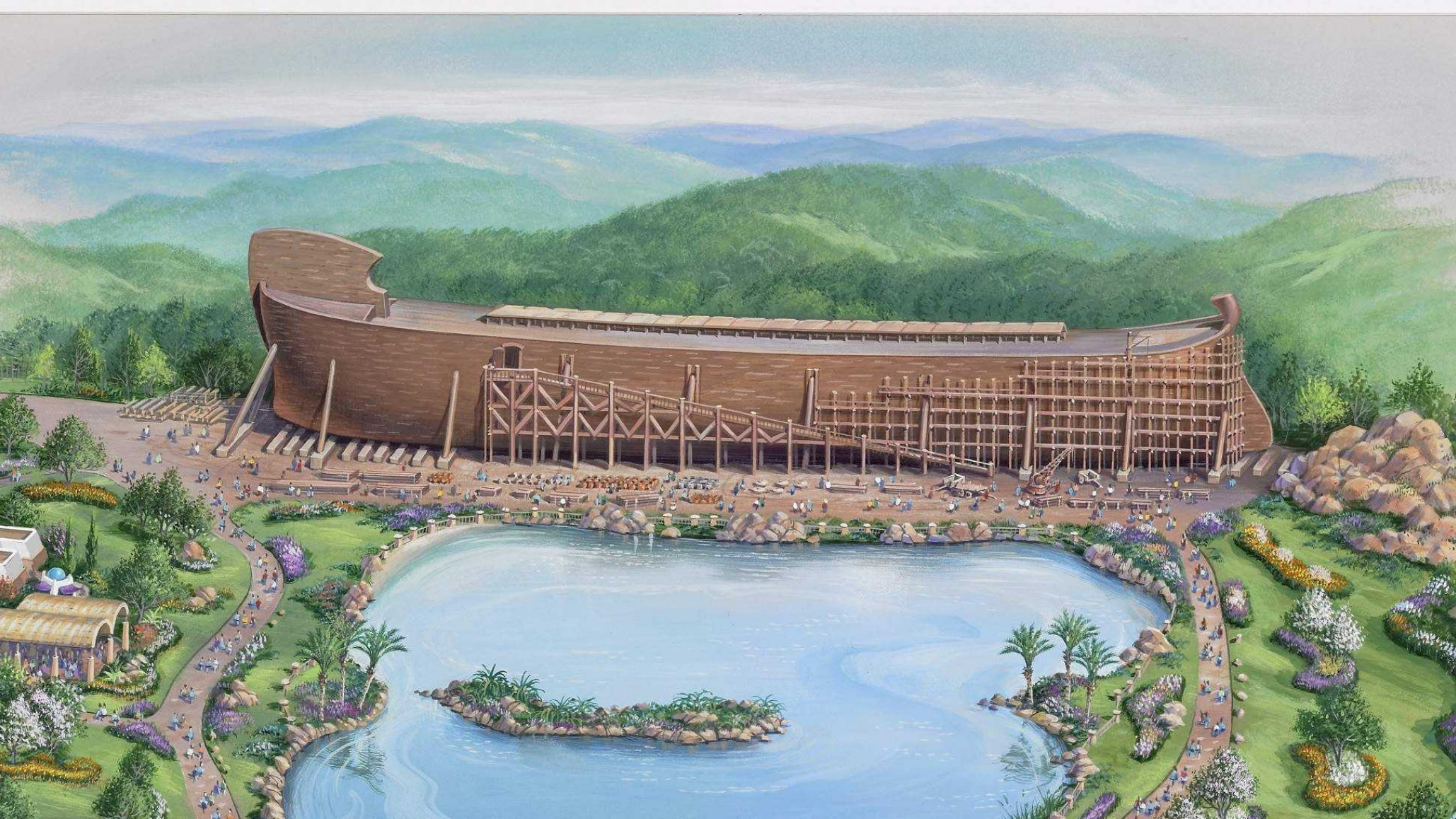 Can Creationist Junk Bonds Keep the Noah's Ark Theme Park Afloat?