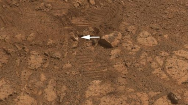 The Mystery of the Suddenly Materializing Martian Jelly Doughnut Rock Is Solved