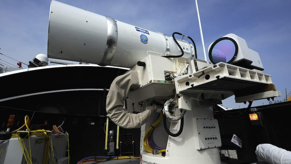 Chinese Smog Probably Could Disrupt America's Laser Weapons