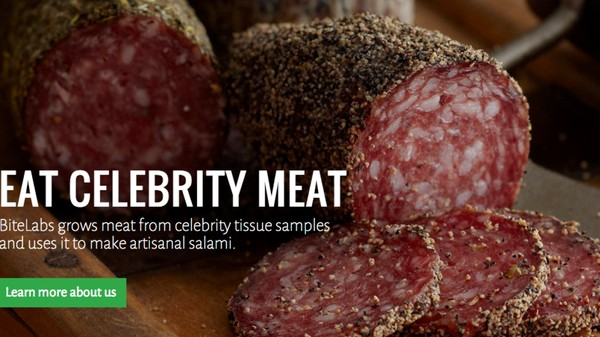 The Guy Who Wants to Sell Lab-Grown Salami Made of Kanye West Is
