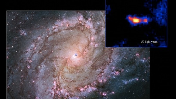 There's a Tiny, 60-Mile Black Hole Inside the Galaxy You Can See with Binoculars