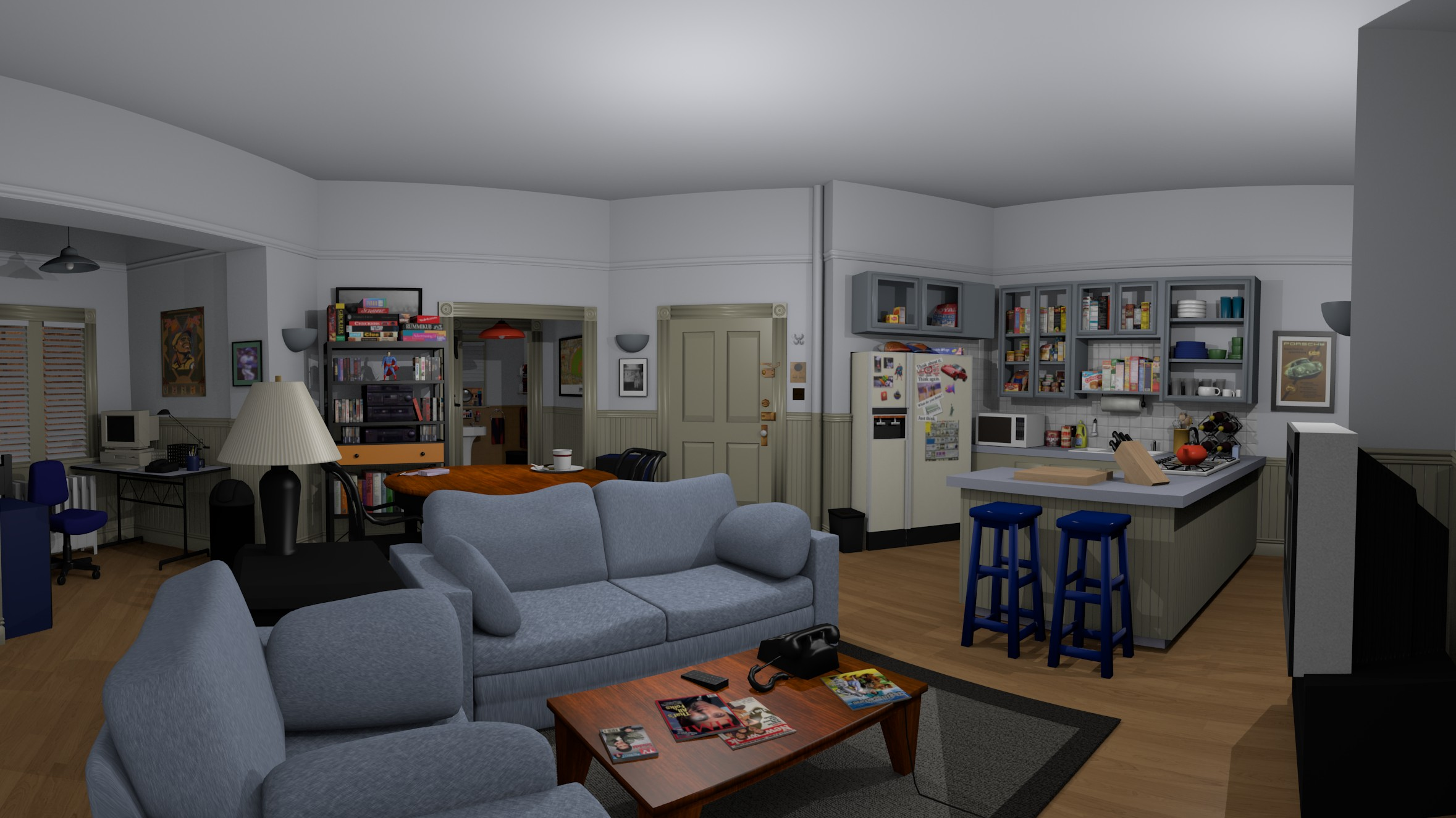 What's the Deal With Seinfeld's Virtual Reality Tour?