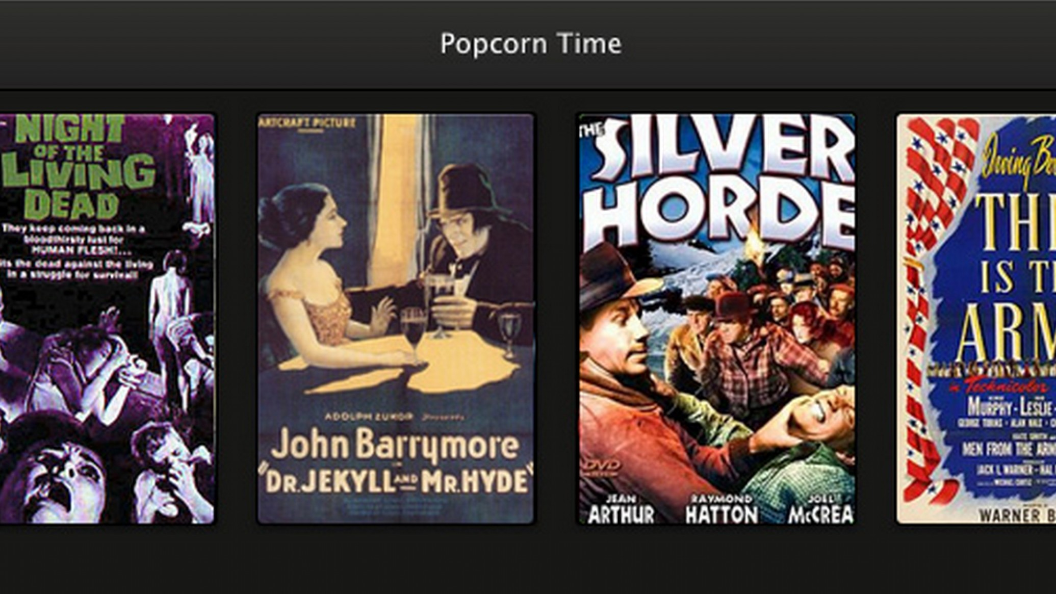 Popcorn Time Is Just Like Netflix, Except Everything Is Pirated