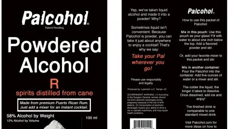 The Science Behind Powdered Alcohol, the Latest Way to Get Drunk
