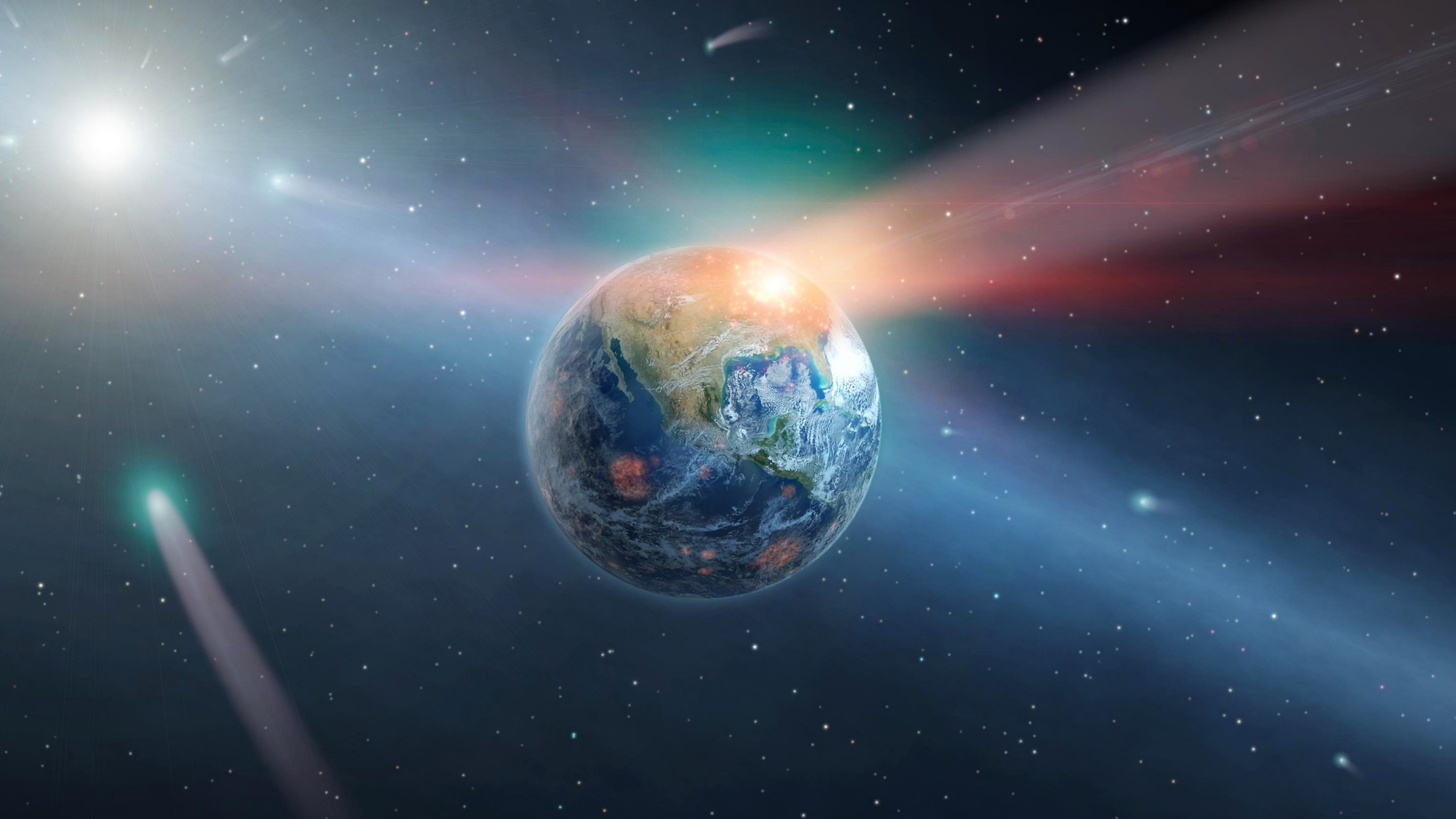 Nuclear-Sized Asteroid Blasts Hit the Earth a Lot More Than You Think