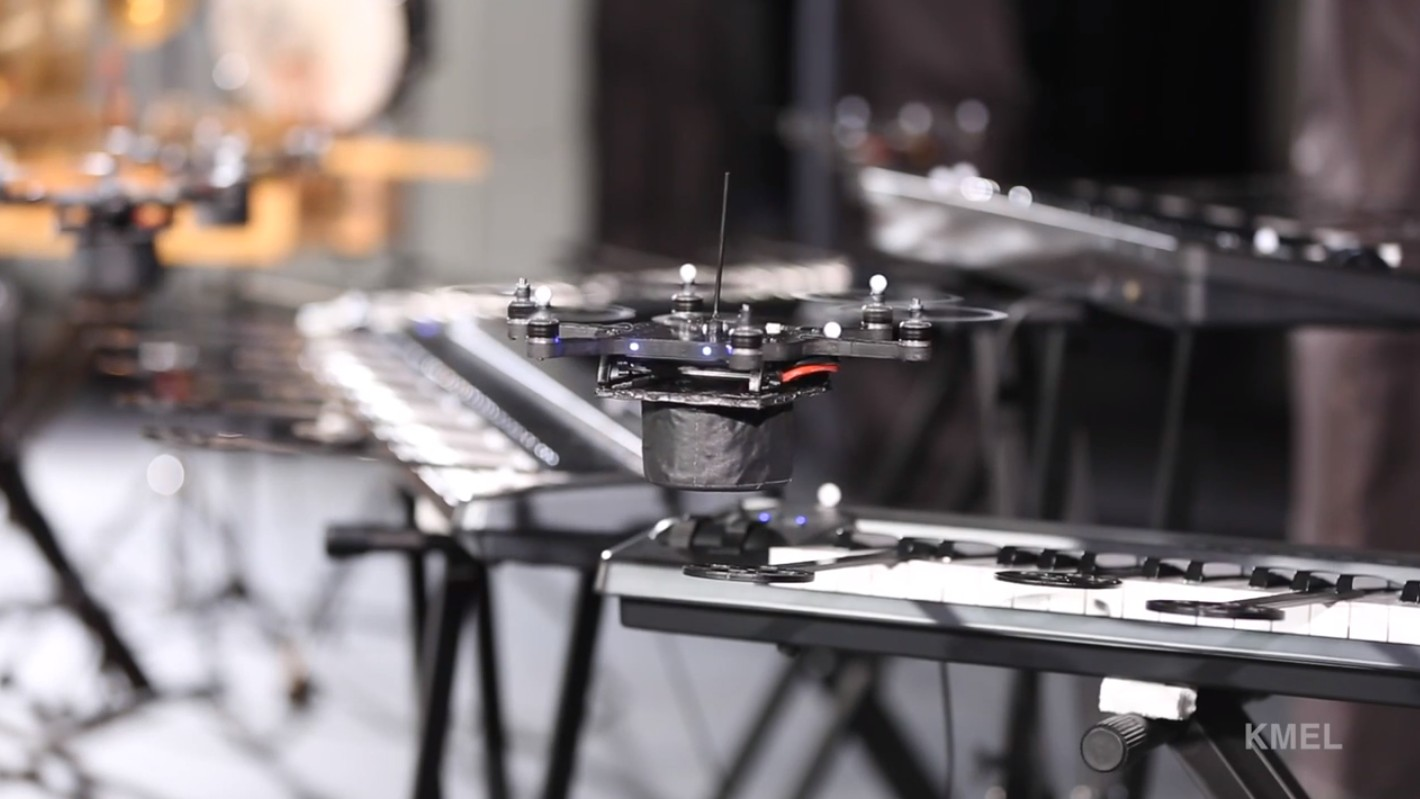 These Quadcoptors Are Better Robotic Musicians Than the Rock-Afire Explosion