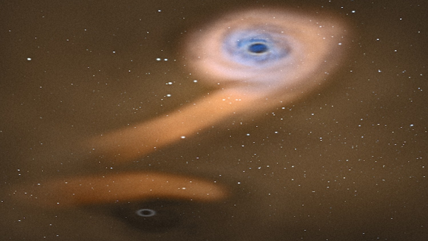 An Astronomical First: Binary Black Holes Devouring a Star in an Inactive Galaxy