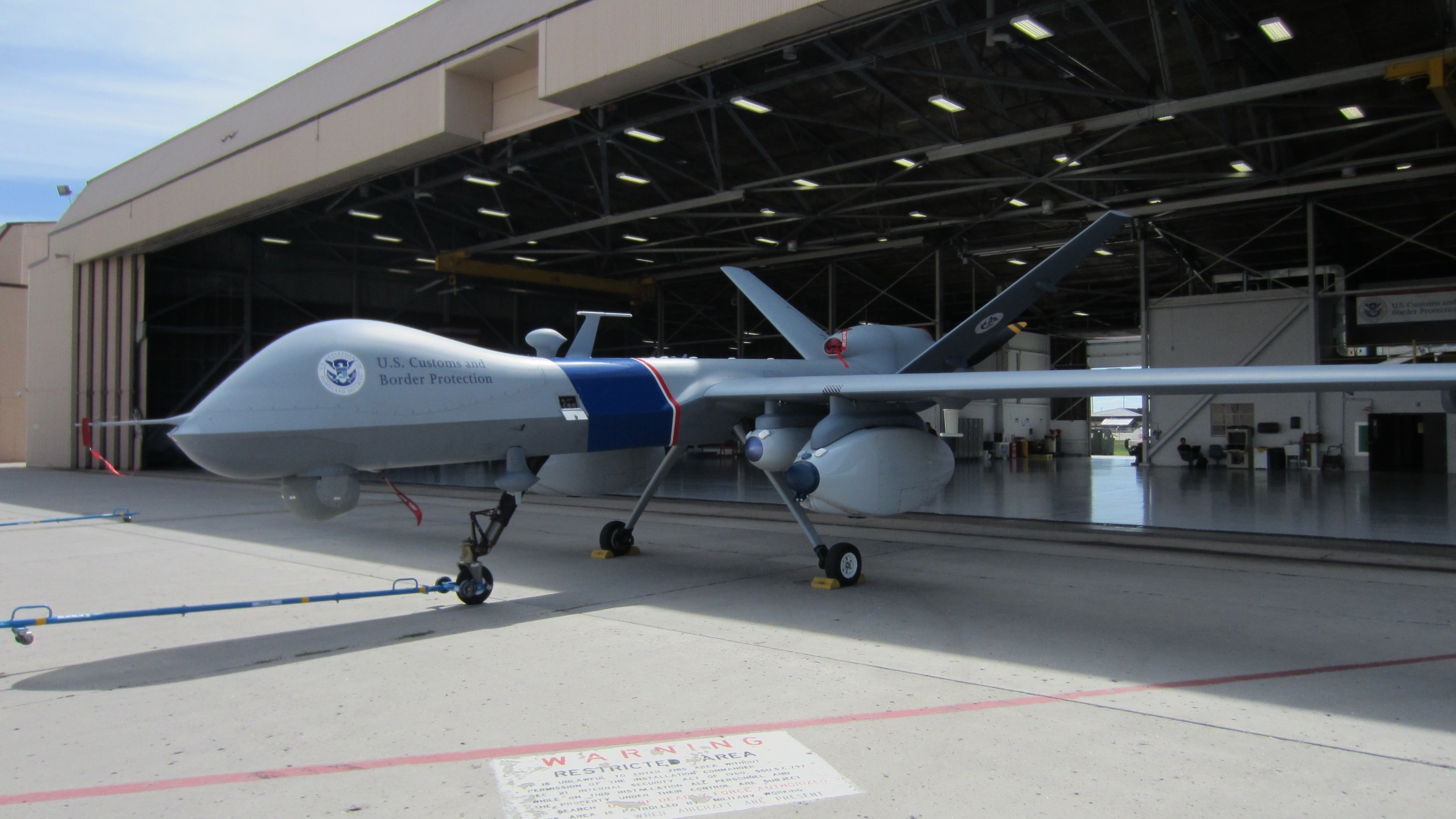 The Mystery of US Customs' Crashed Drone