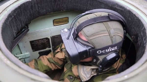 Norway Is Gamifying Warfare By Driving Tanks With Oculus Rift