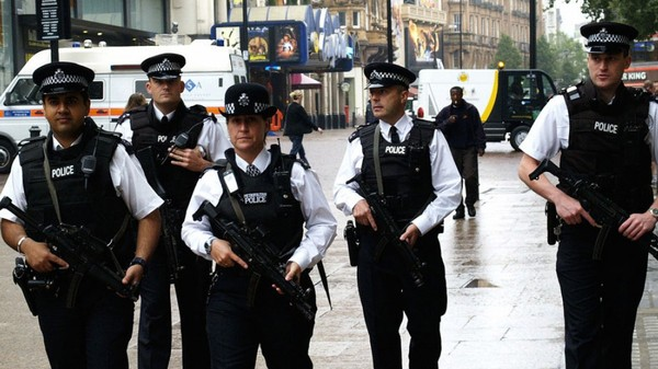 London Police Are Recording Their Patrols with Body Cameras
