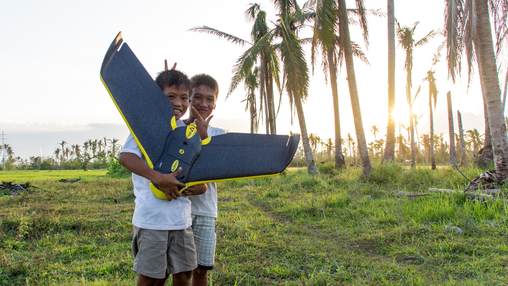 Drones Mapped the Philippines to Improve Typhoon Aid Efforts