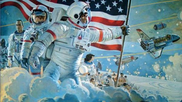 Robert McCall Painted Space