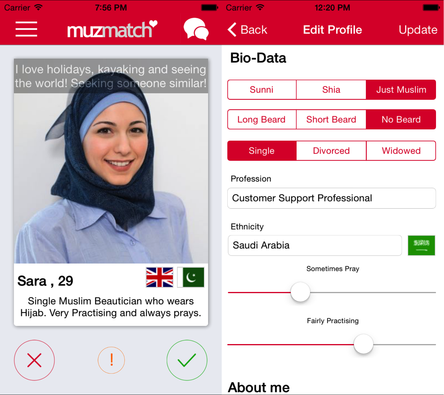 wytopitlock muslim dating site Okcupid is the only dating app that knows you're more substance than just a selfie—and it's free download it today to make meaningful connections with real people.