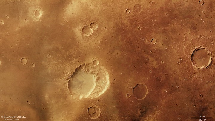 This 'Crater' Might Actually Be an Ancient Martian Supervolcano