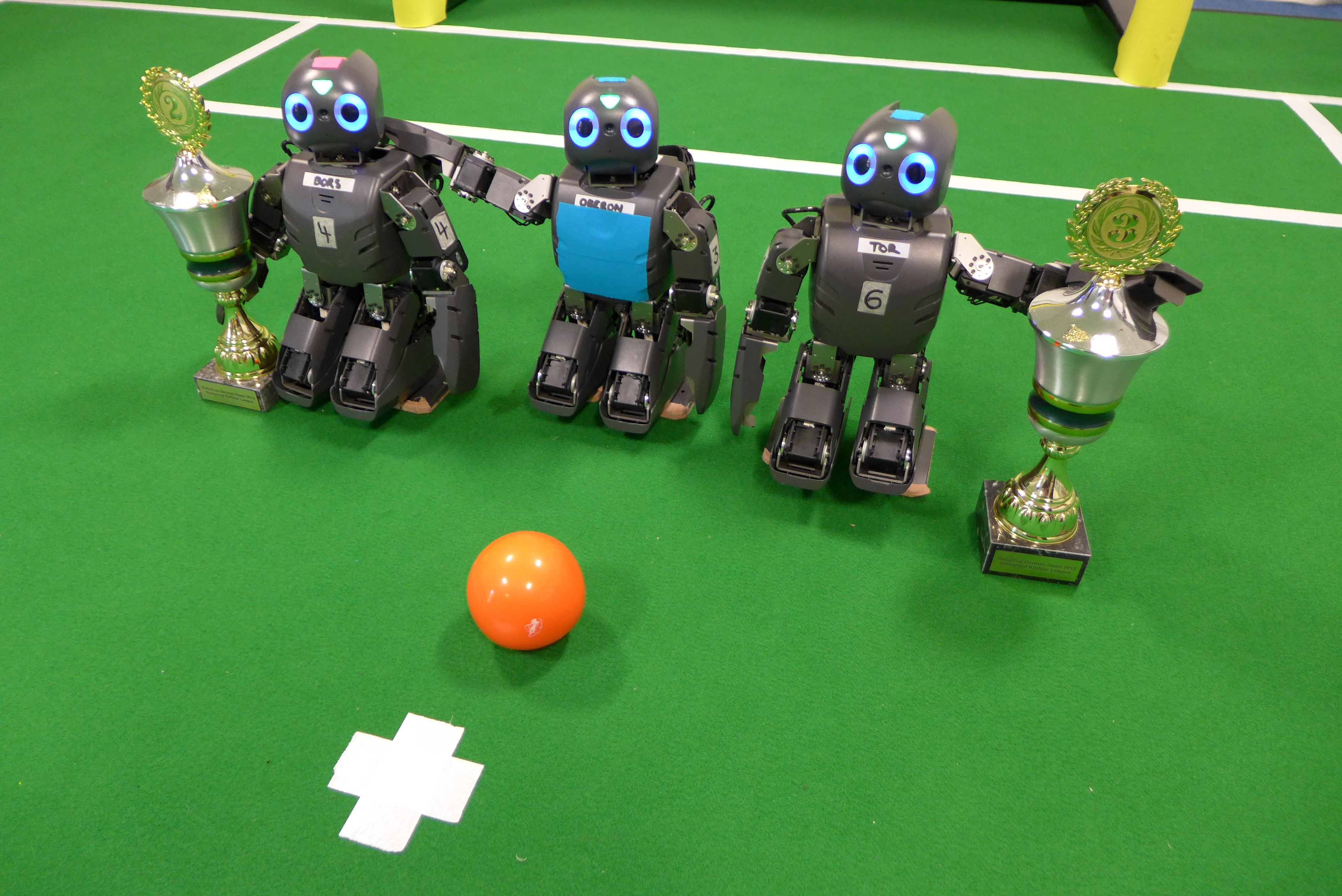 Researchers Want Robots to Play in the World Cup by 2050 ...
