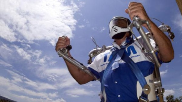 Jetpacks? This Mexican Rocketeer's Been Flying Them In His Backyard For Years