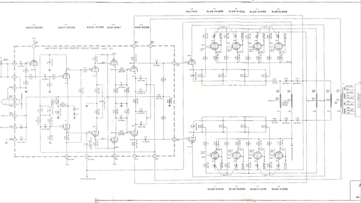 That Time the Navy Used the Grateful Dead's Amps to Listen ... Alembic Preamp Schematic on