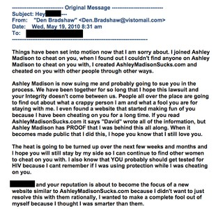 Lawsuit: Ashley Madison Harassed and Threatened Owner of