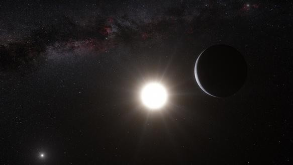 Our Nearest Neighbor Star Hosts an Earth-Mass Planet