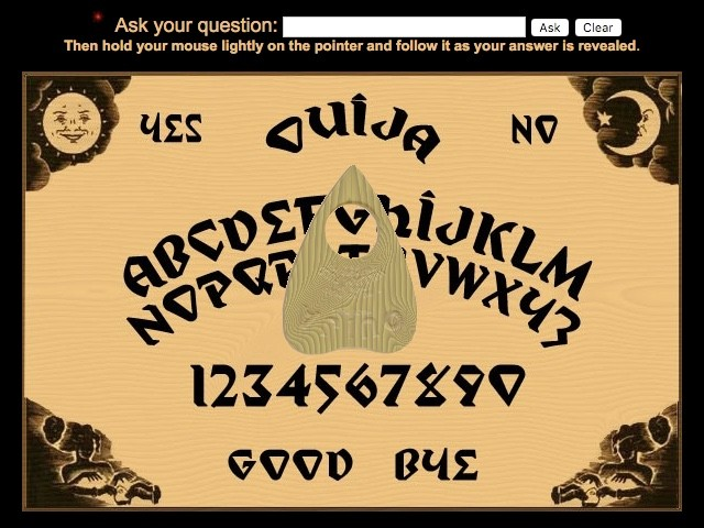 Surfing the Spirit Web With Internet Ouija - VICE