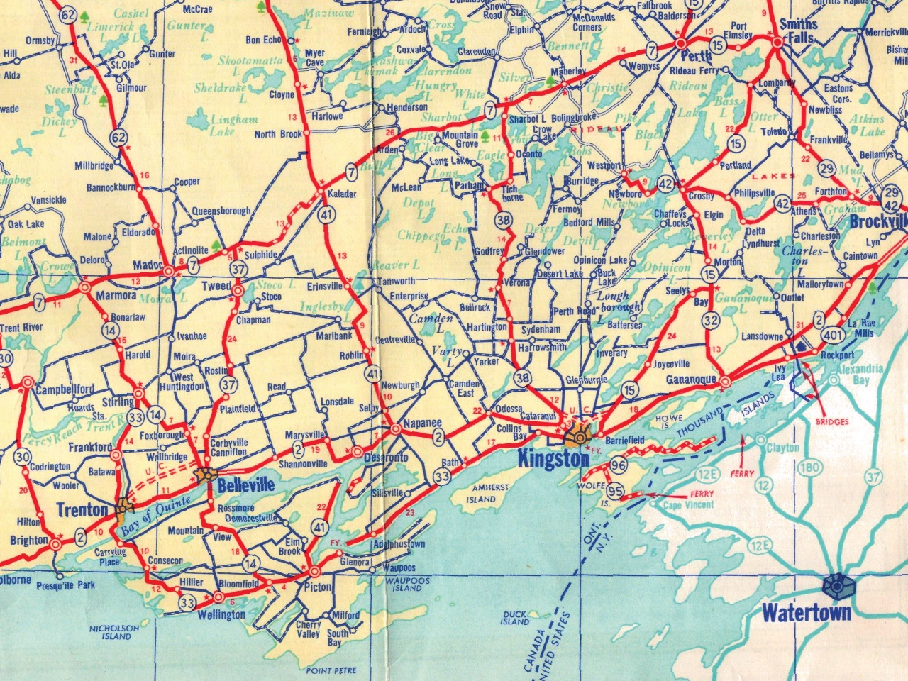 The LittleKnown Capitalist History of the Highway Map Motherboard