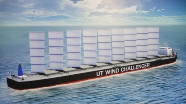 The Cargo Ships of the Future Will Be Galleons With 20-Story Sails
