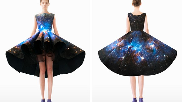 Setareh Mohtarez's Space Fashion