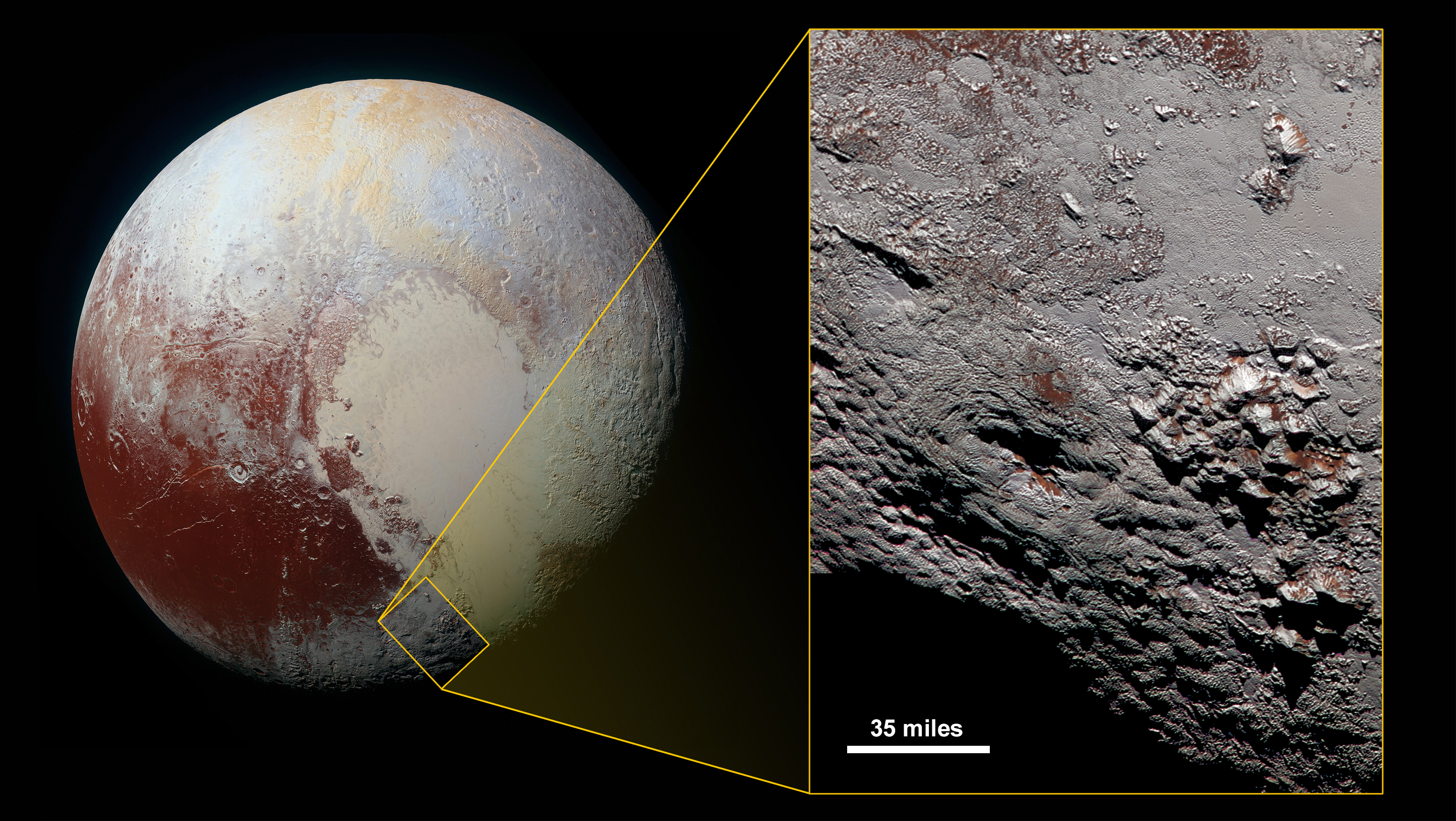 New Horizons Captures Possible Historic Discovery On Pluto