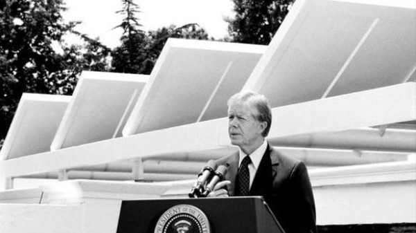 33 Years Ago Today, Jimmy Carter Put Solar Panels on the White House