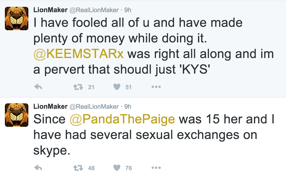 Lion maker and paige the panda dating advice 8