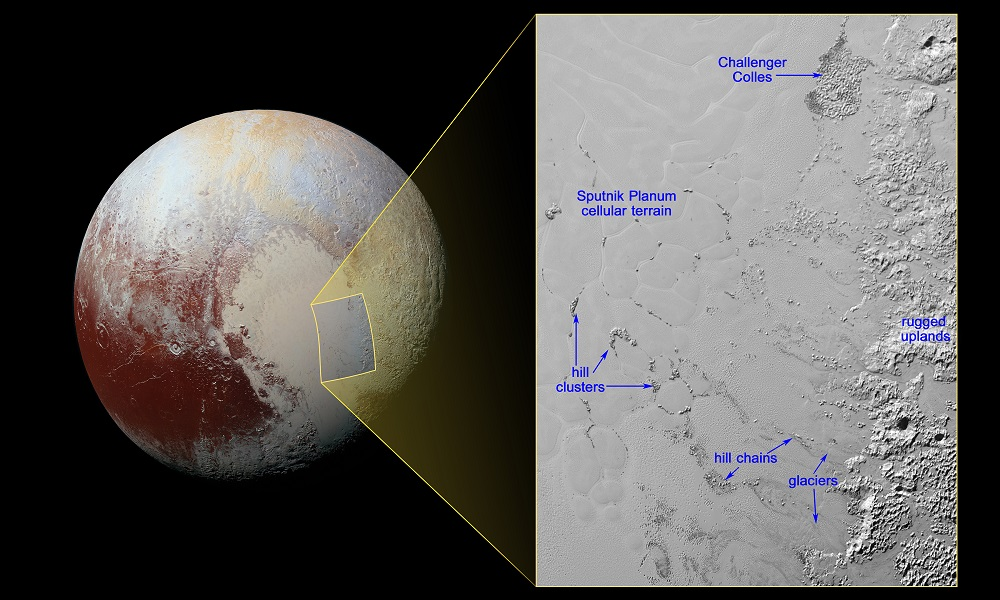 Pluto's Mysterious Floating Hills Are Probably Water Icebergs