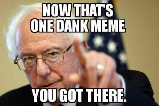 1456153687249785 can bernie sanders' dank meme stash swing the election? motherboard