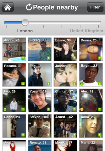 What is encounters on badoo
