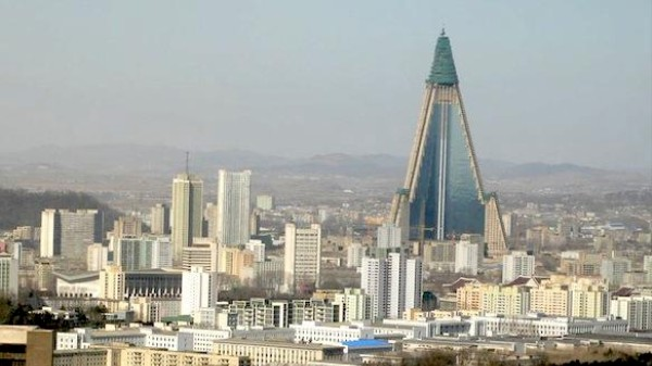 Look Inside North Korea's Insane Ryugyong Hotel for the First Time