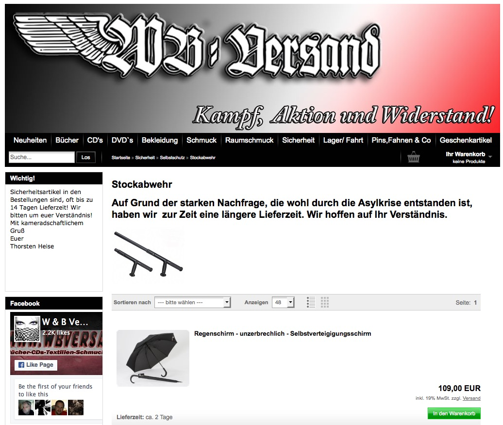bekannte deutsche neonazis verdienen als online waffenh ndler doppelt motherboard. Black Bedroom Furniture Sets. Home Design Ideas