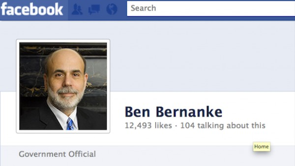 Facebook, Instagram, Ben Bernanke: Thank You for the New Tech Bubble