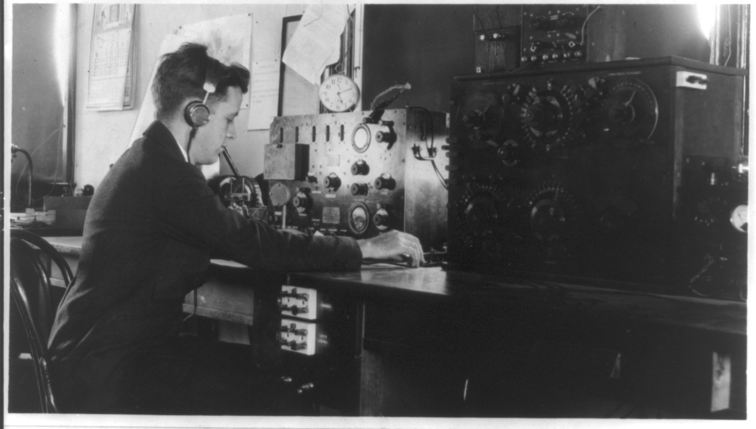 The story of DXing starts with amateur radio operators