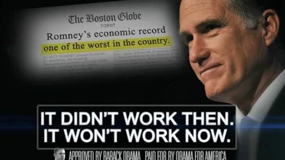 Obama and Romney Have Aired One Million TV Ads in Five Months