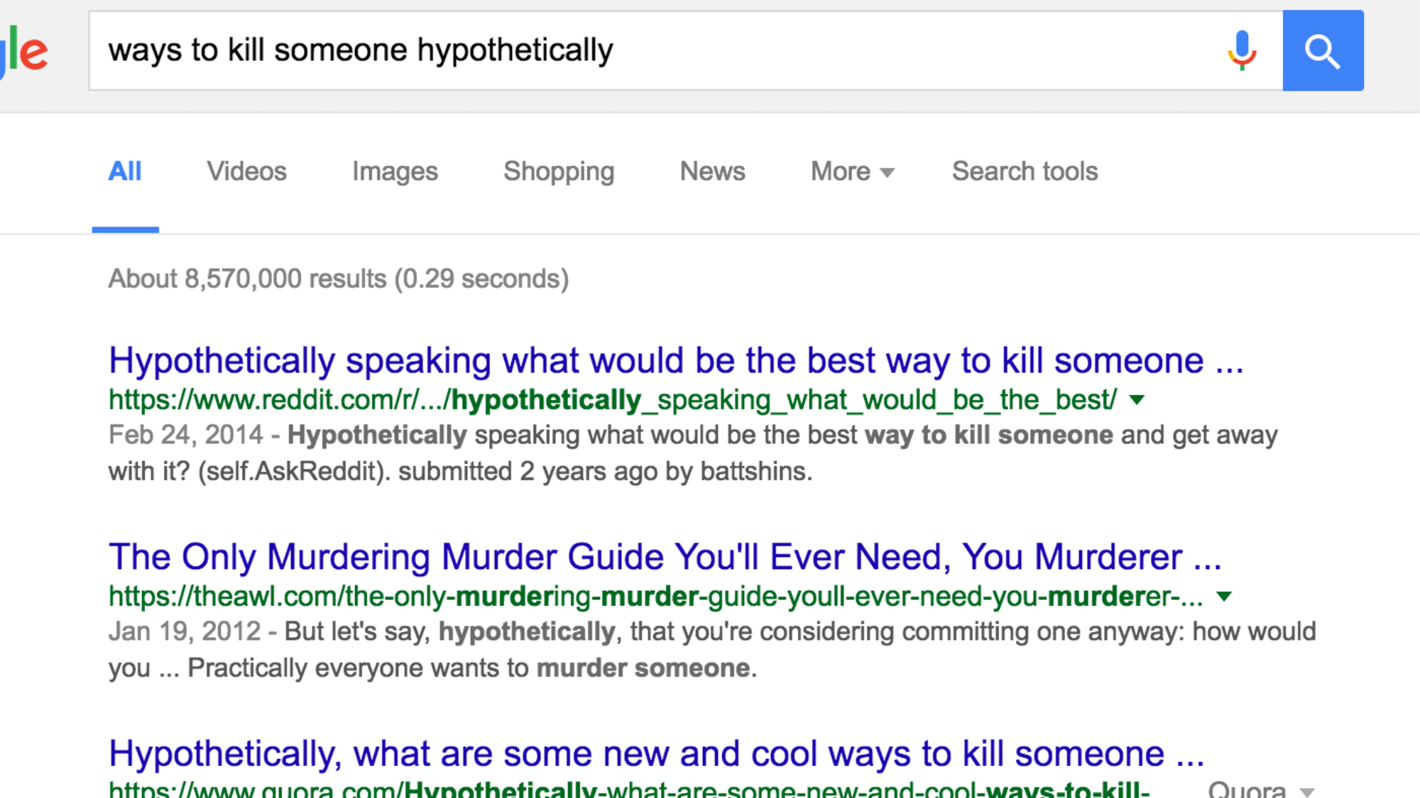 Ruin Your Google Search History With One Click Using This